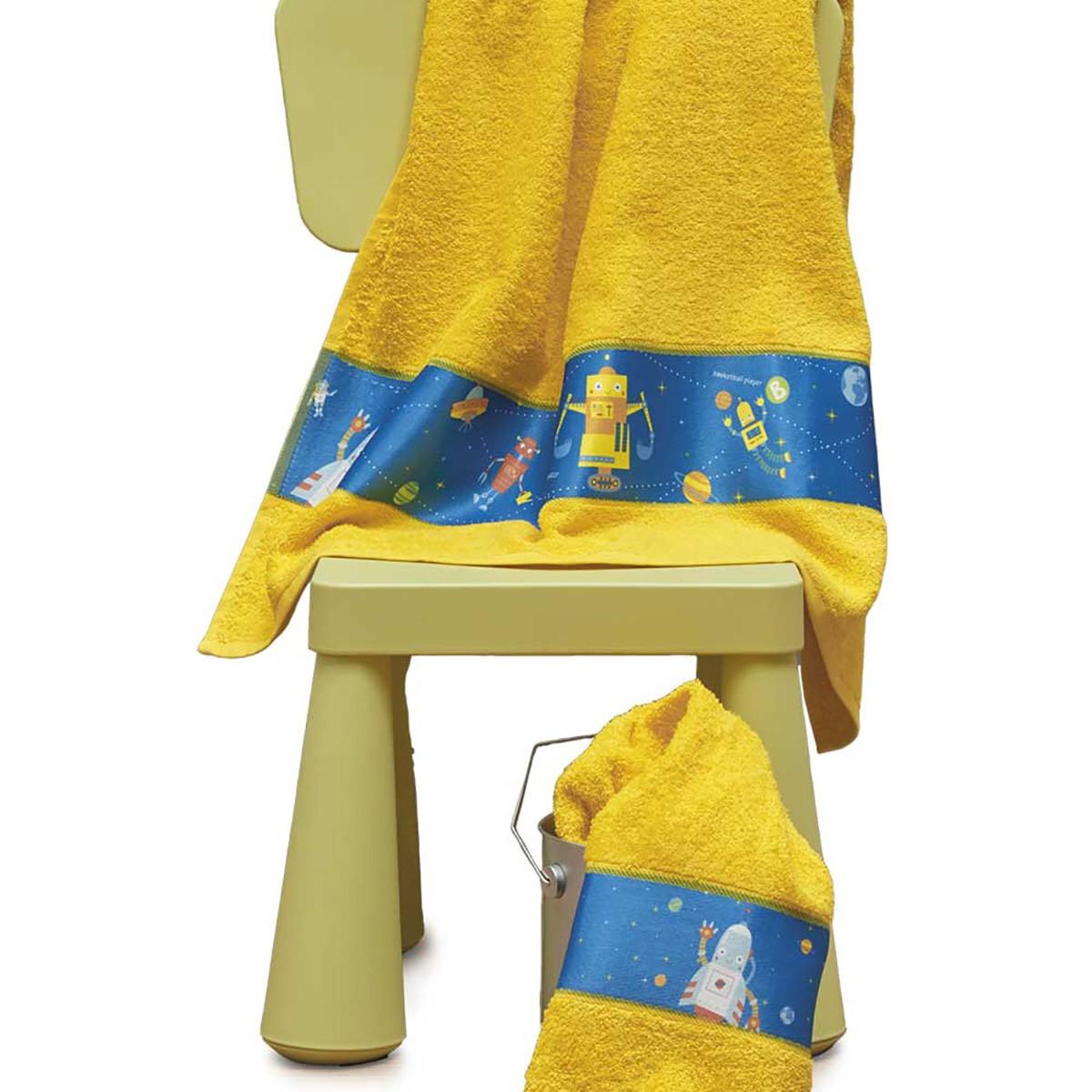 Παιδικές Πετσέτες (Σετ 2τμχ) Kentia Kids Robot