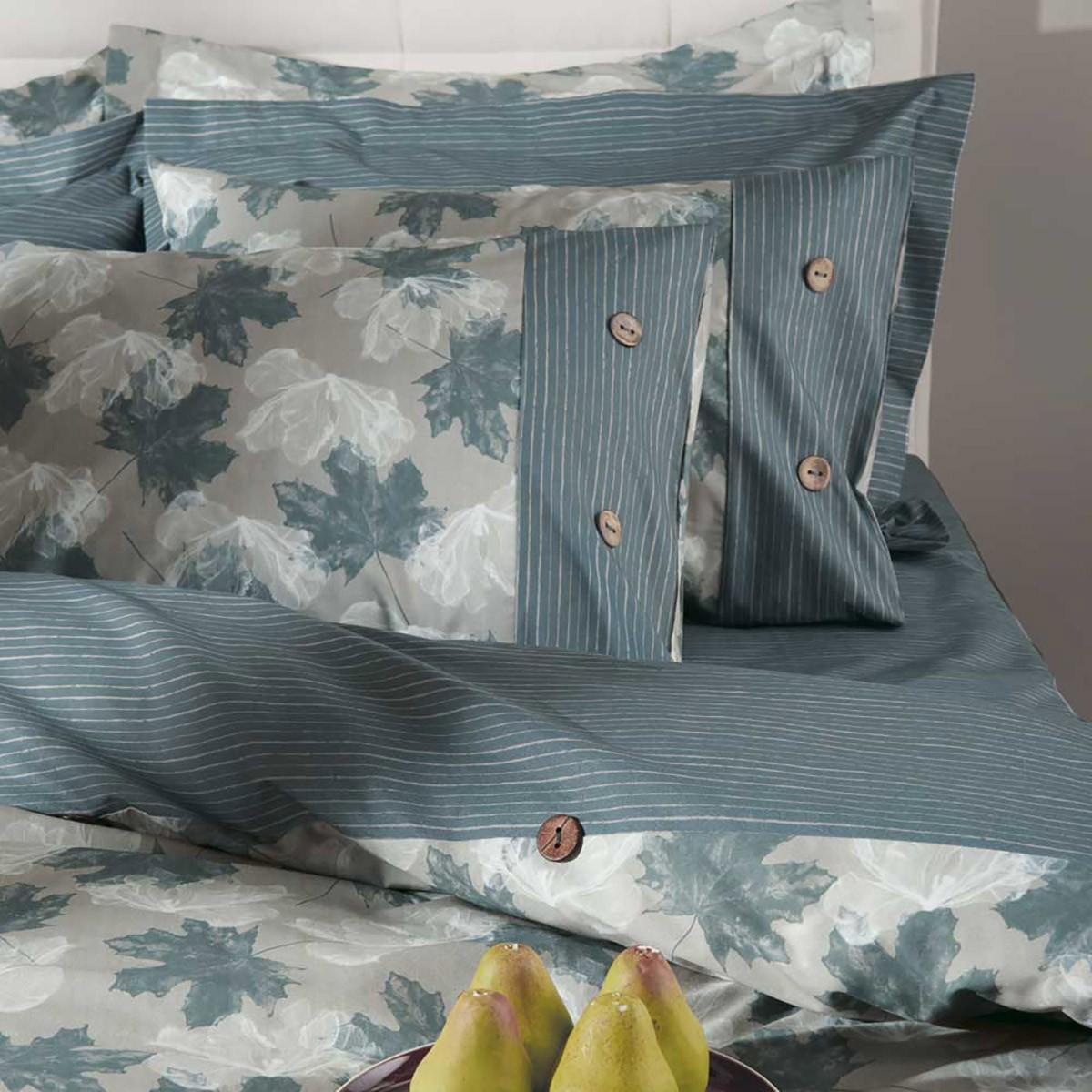 Ζεύγος Μαξιλαροθήκες Oxford Kentia Loft Maple 01