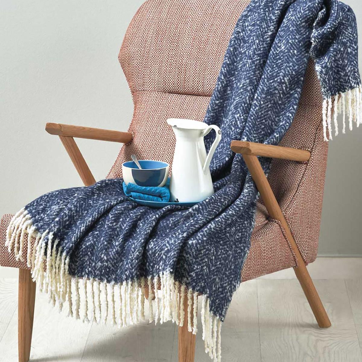 Κουβέρτα Καναπέ Πλεκτή Kentia Stylish Harper home   σαλόνι   κουβέρτες καναπέ