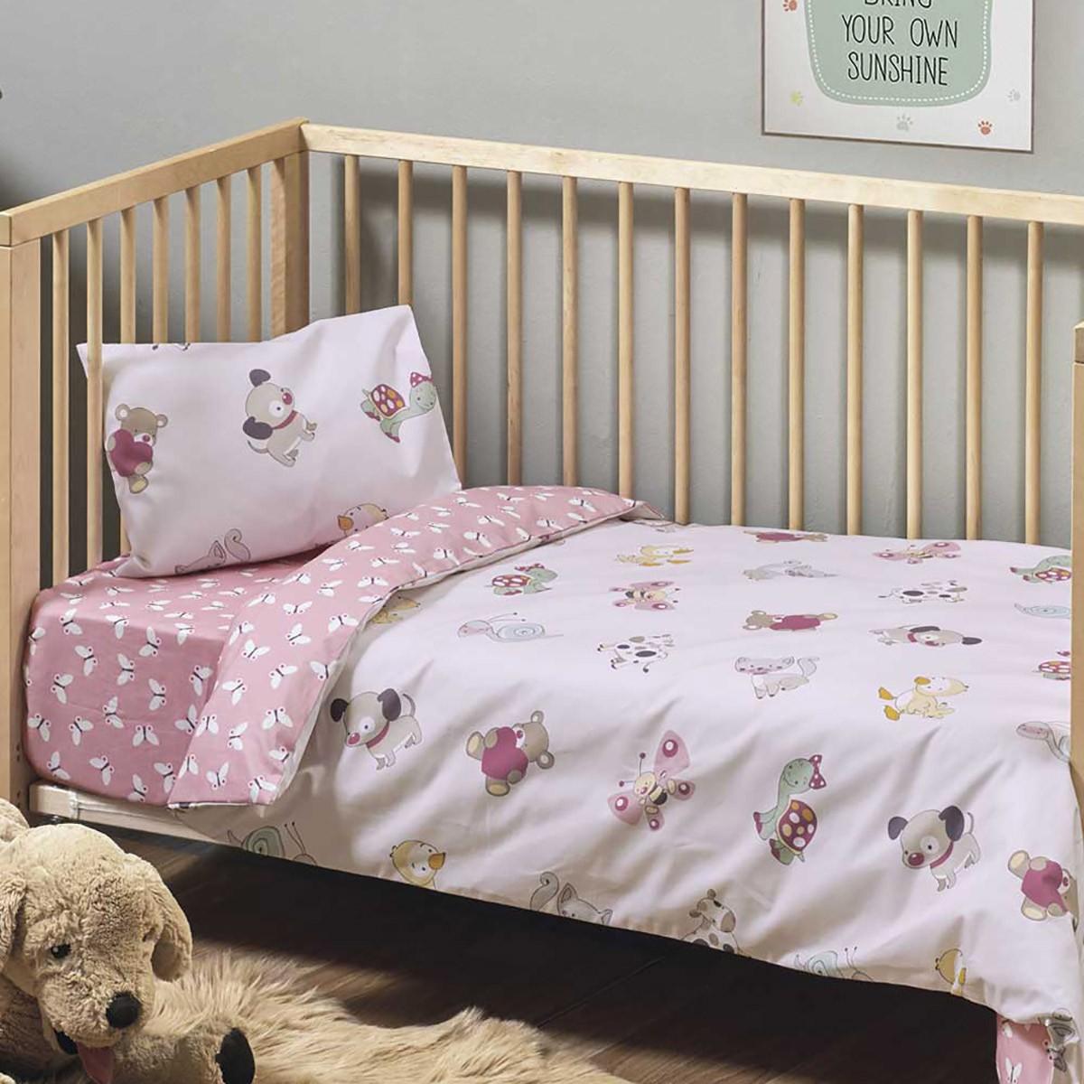 Πάπλωμα Κούνιας (Σετ) Kentia Baby Pet