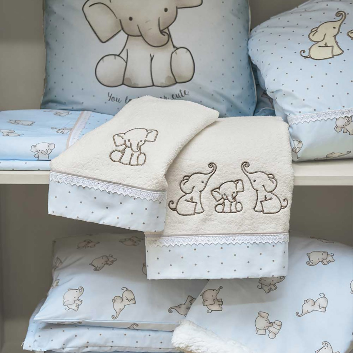 Βρεφικές Πετσέτες (Σετ 2τμχ) Kentia Baby Yuri