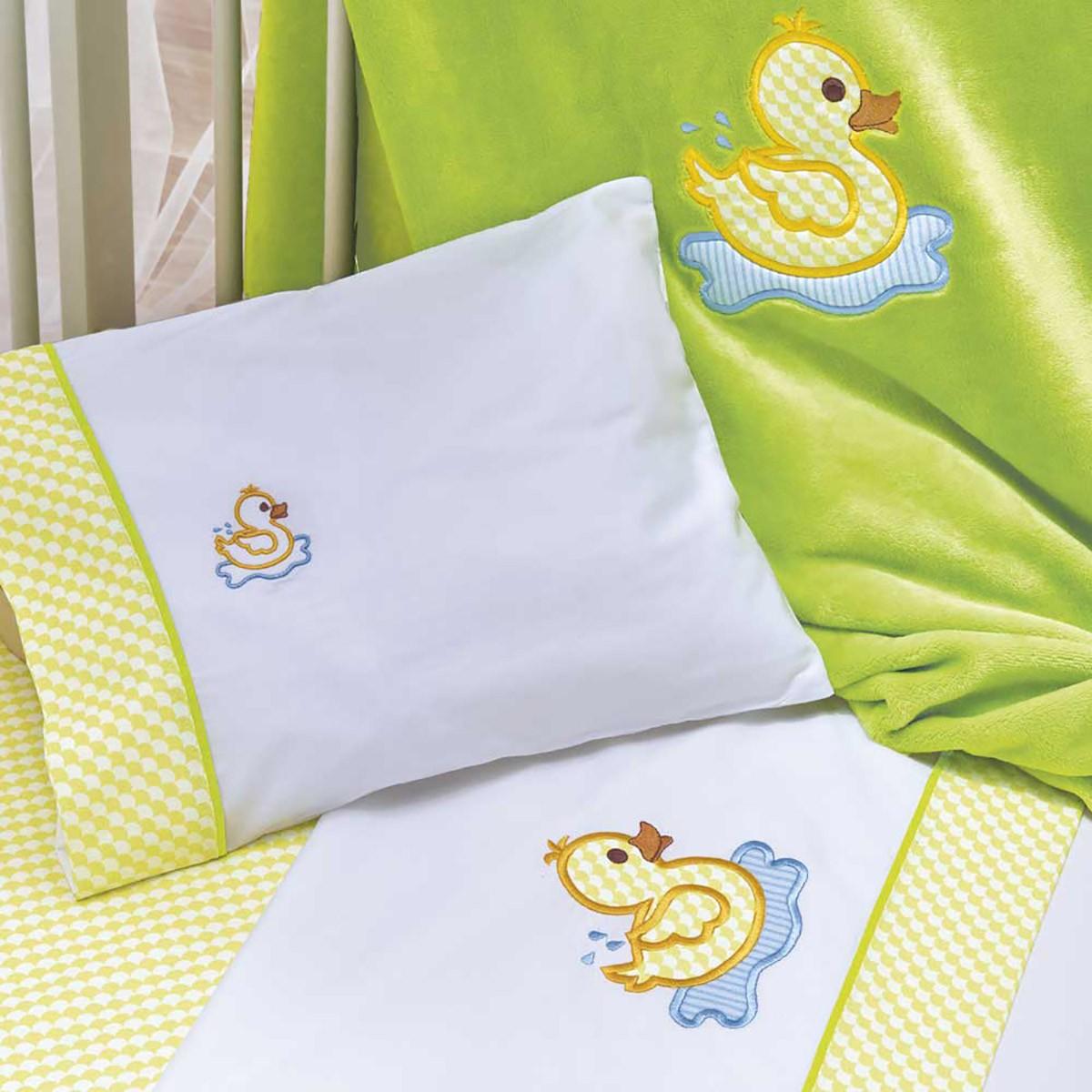 Κουβέρτα Βελουτέ Κούνιας Kentia Baby Papaki 75621