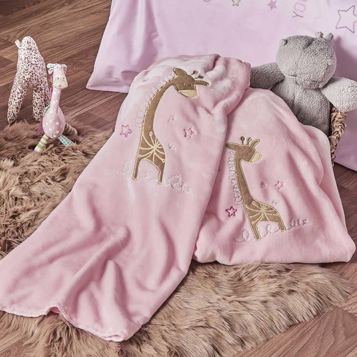 Κουβέρτα Βελουτέ Αγκαλιάς Kentia Baby Momo 14