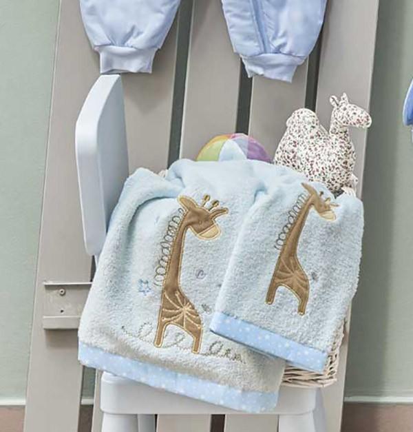 Βρεφικές Πετσέτες (Σετ 2τμχ) Kentia Baby Momo 19