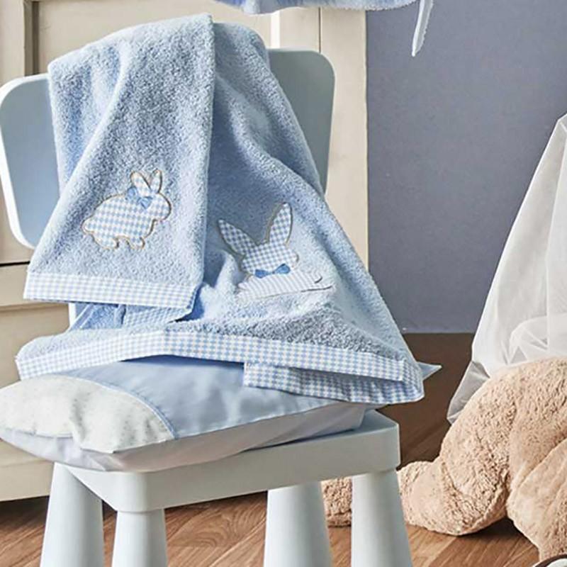 Βρεφικές Πετσέτες (Σετ 2τμχ) Kentia Baby Rabbit 19