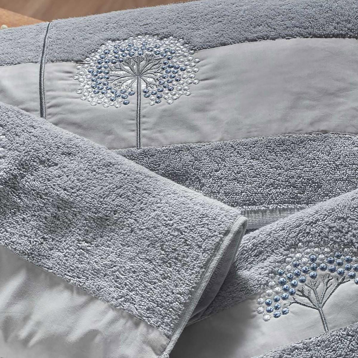 Πετσέτες Μπάνιου (Σετ 3τμχ) Kentia Franca 32