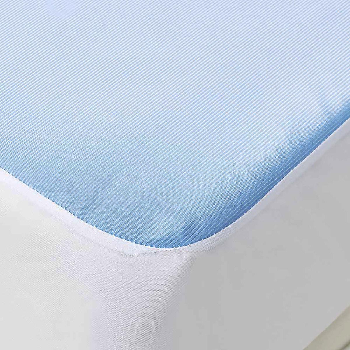 Κάλυμμα Στρώματος Ημίδιπλο Αδιάβροχο Kentia Cool Protector
