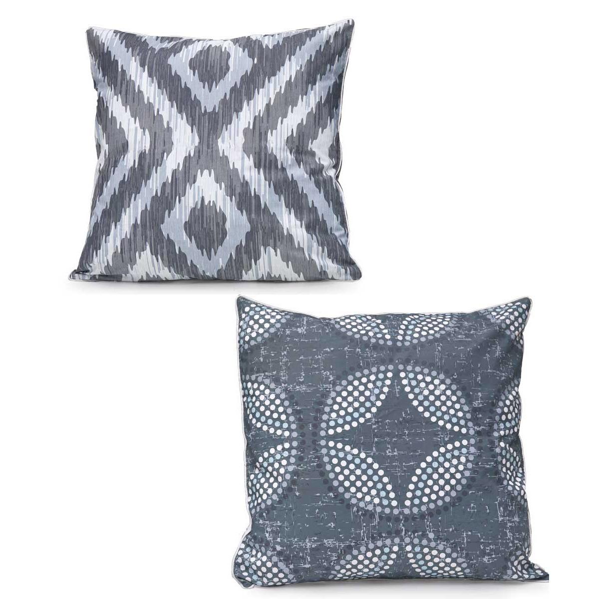 Διακοσμητική Μαξιλαροθήκη 2 Όψεων Kentia Loft 12 home   κρεβατοκάμαρα   διακοσμητικά μαξιλάρια