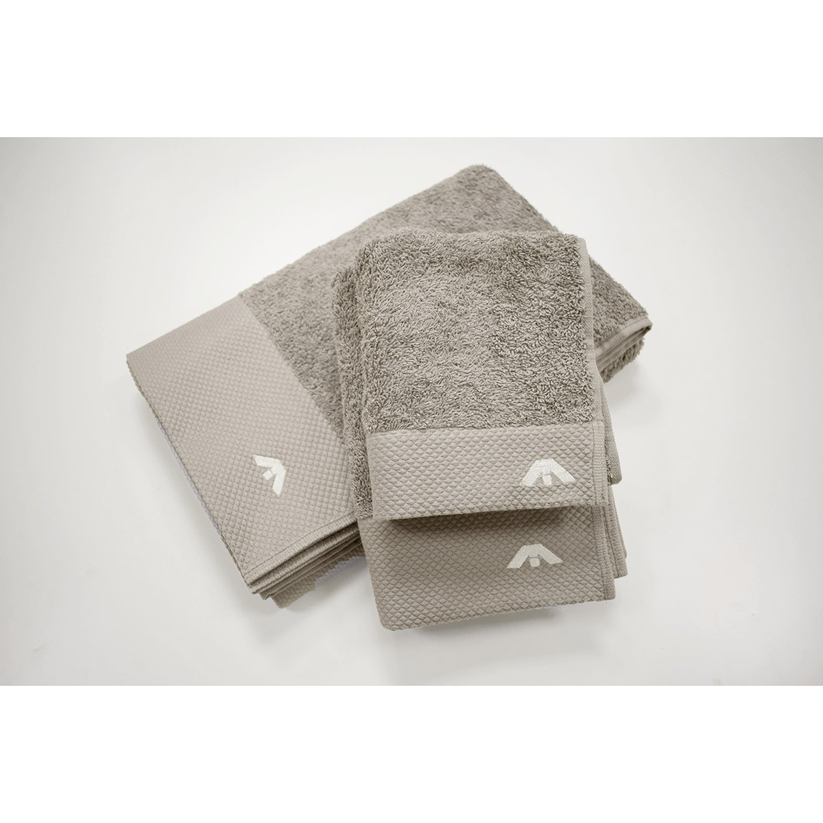 Πετσέτες Μπάνιου (Σετ 3τμχ) AP Milano Italia Dusty Beige