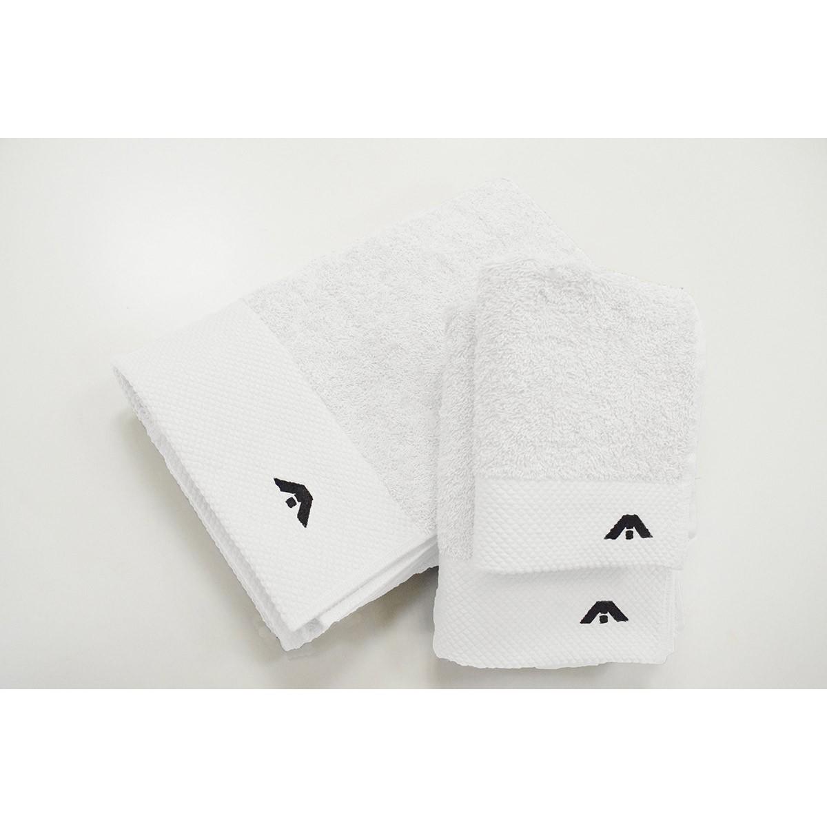 Πετσέτες Μπάνιου (Σετ 3τμχ) AP Milano Italia White
