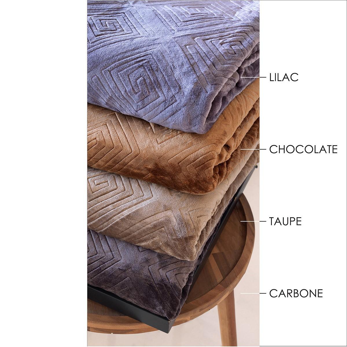 Κουβέρτα Fleece Μονή Sb Home Meandro