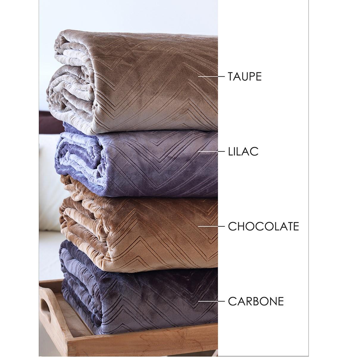Κουβέρτα Fleece Υπέρδιπλη Sb Home Angolo