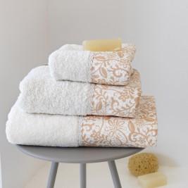 Πετσέτες Μπάνιου (Σετ 3τμχ) Sb Home Garda