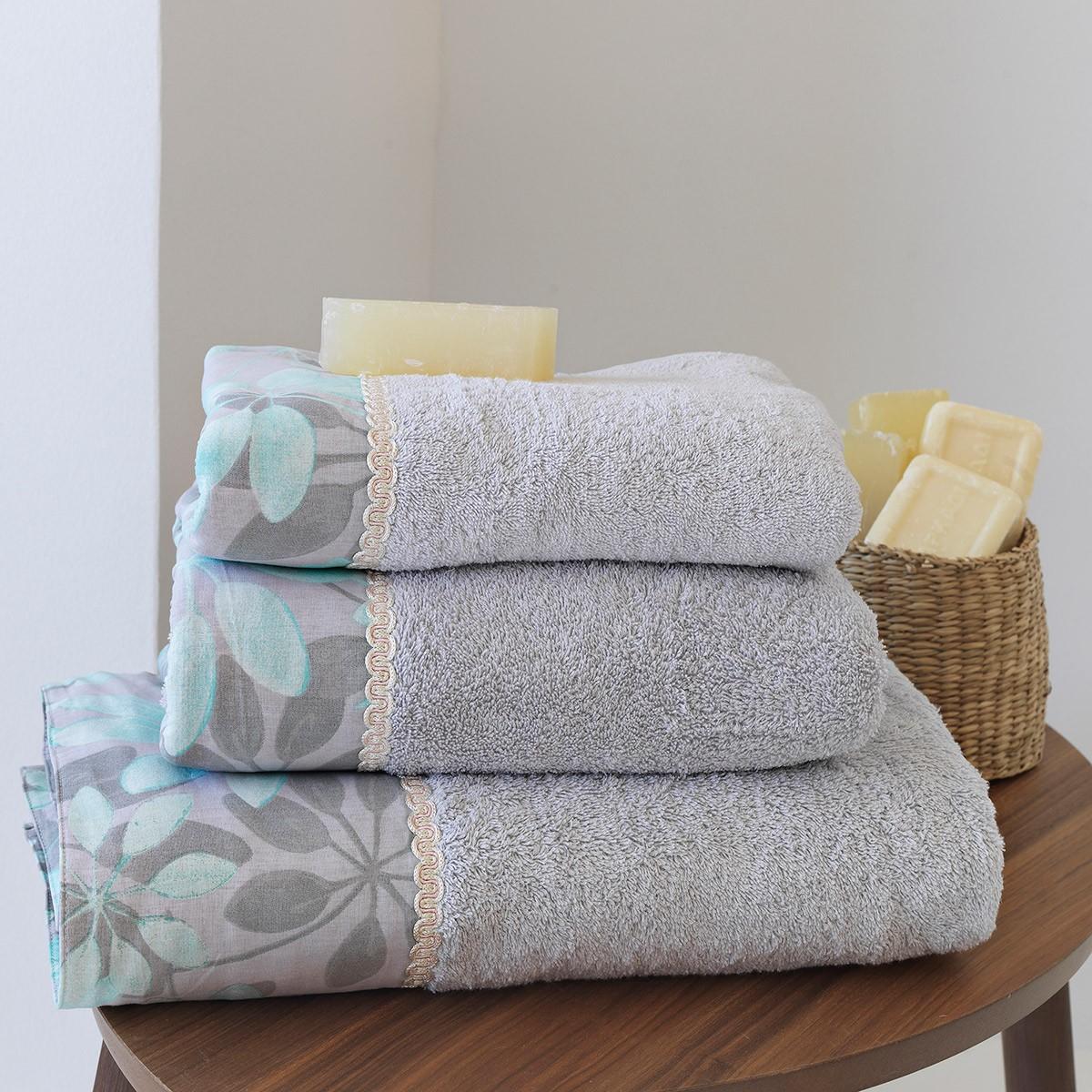 Πετσέτες Μπάνιου (Σετ 3τμχ) Sb Home Althea