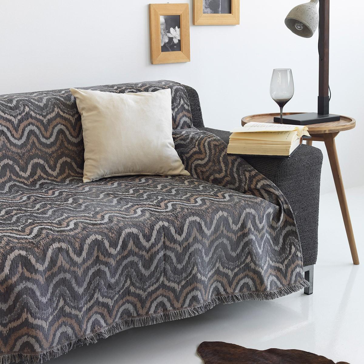 Ριχτάρι Πολυθρόνας (180×150) Sb Home Waves Grey