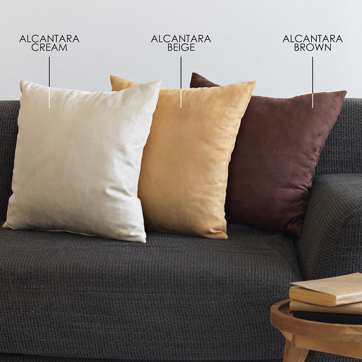 Διακοσμητική Μαξιλαροθήκη Sb Home Alcantara