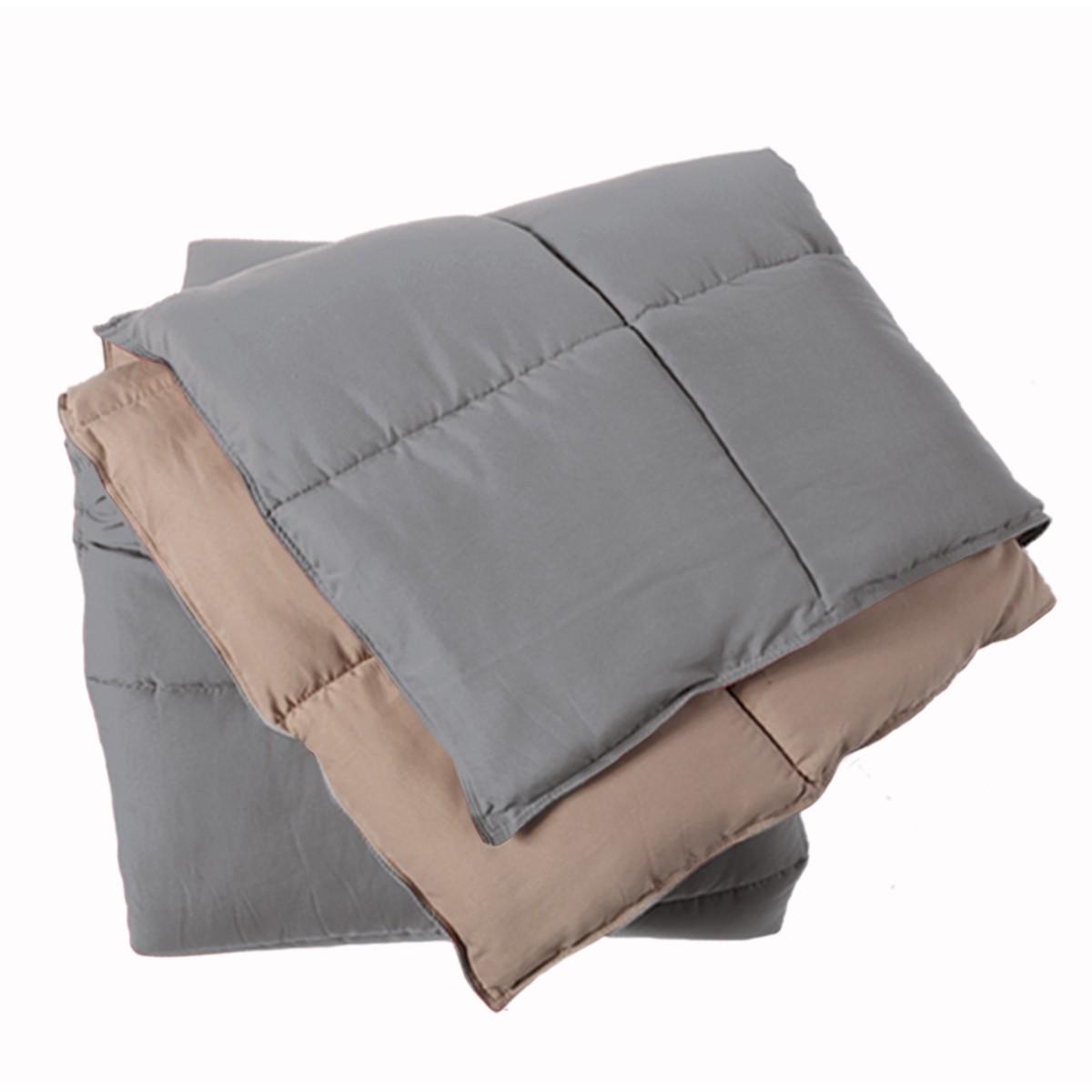 Πάπλωμα Μονό 2 Όψεων Nef-Nef Bicolor Grey/Mocca