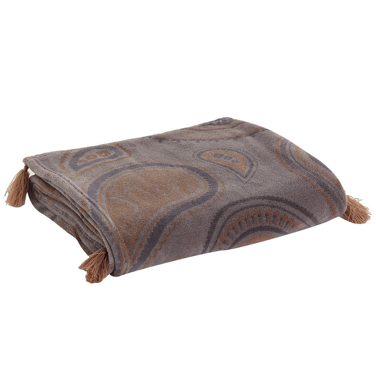Κουβέρτα Καναπέ Nef-Nef Raul Grey