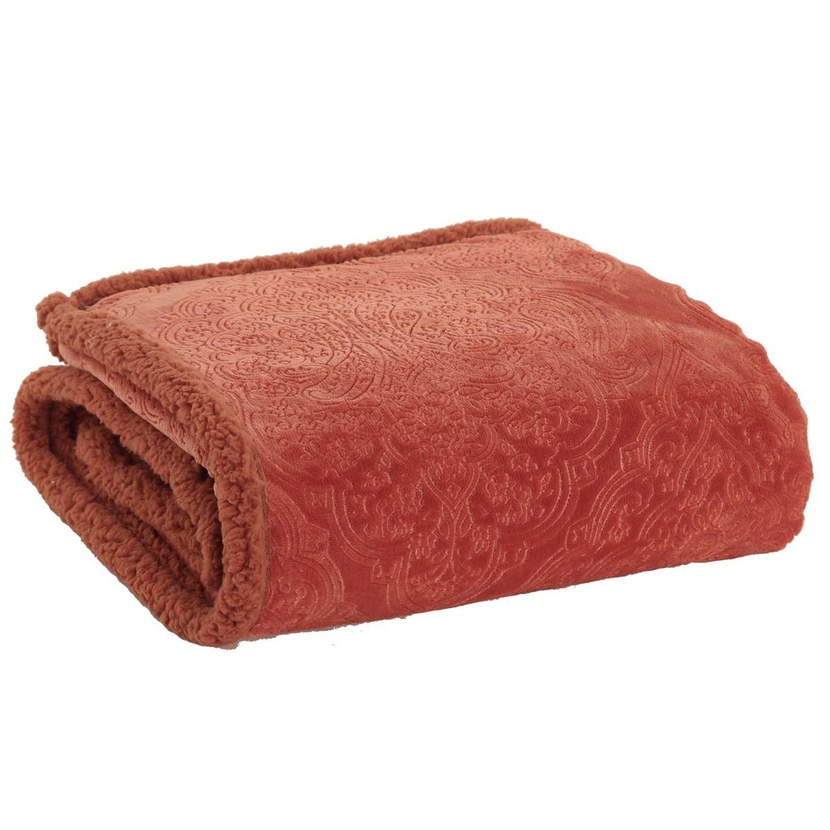 Κουβέρτα Καναπέ Nef-Nef Real Paprica