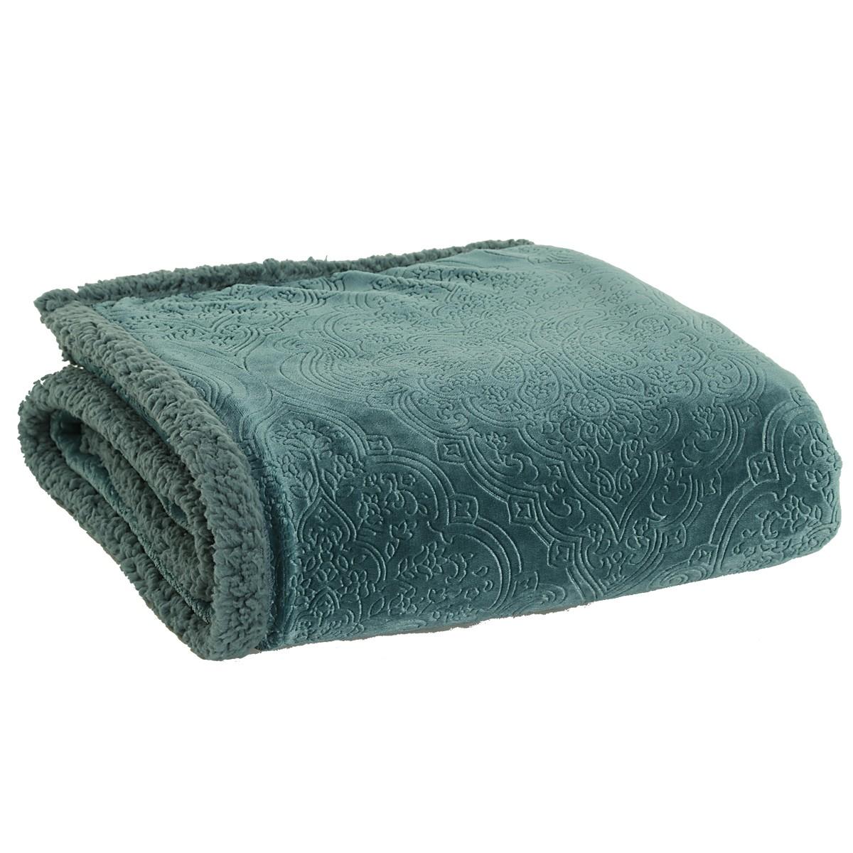 Κουβέρτα Καναπέ Nef-Nef Real Green
