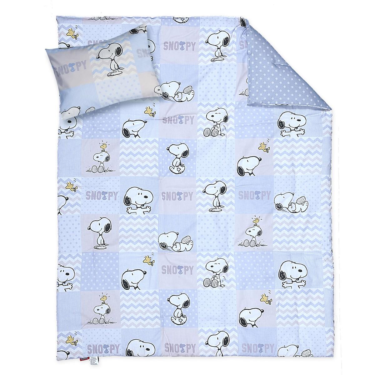 Παπλωματοθήκη Κούνιας (Σετ) Nef-Nef Baby Snoopy Patch
