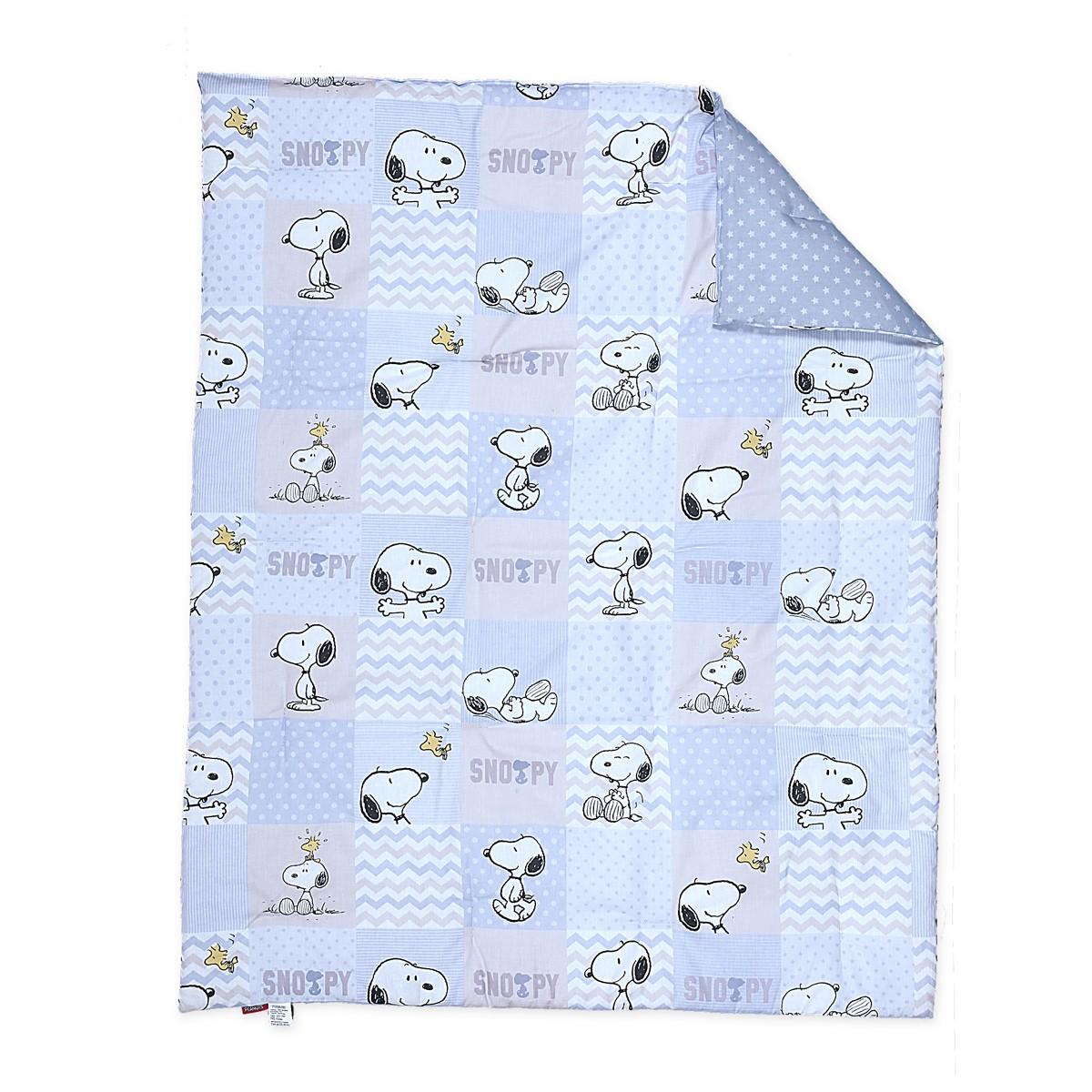 Πάπλωμα Κούνιας Nef-Nef Baby Snoopy Patch