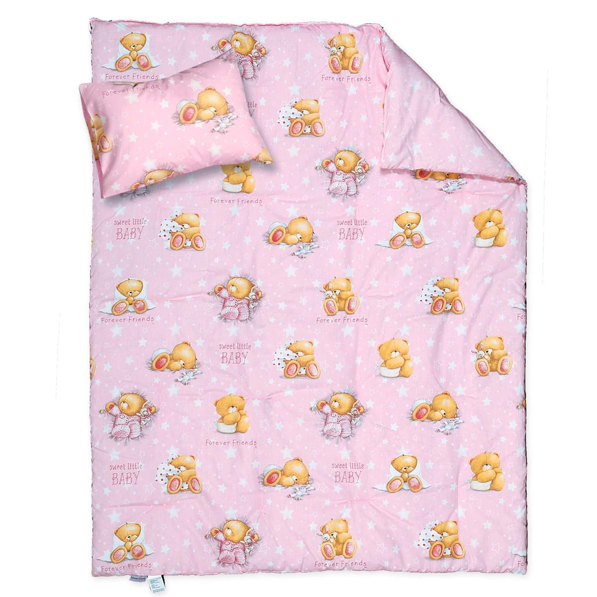 Παπλωματοθήκη Κούνιας (Σετ) Nef-Nef Baby FF Forever Sleepy 76128