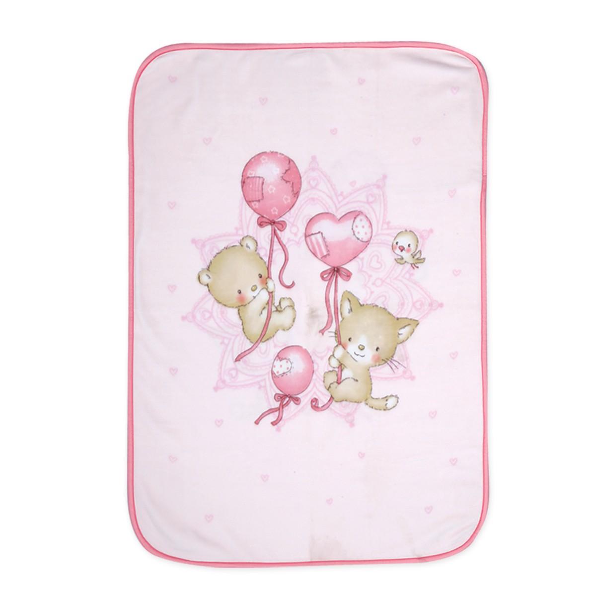 Κουβέρτα Βελουτέ Αγκαλιάς Nef-Nef Baby Balloon Pets