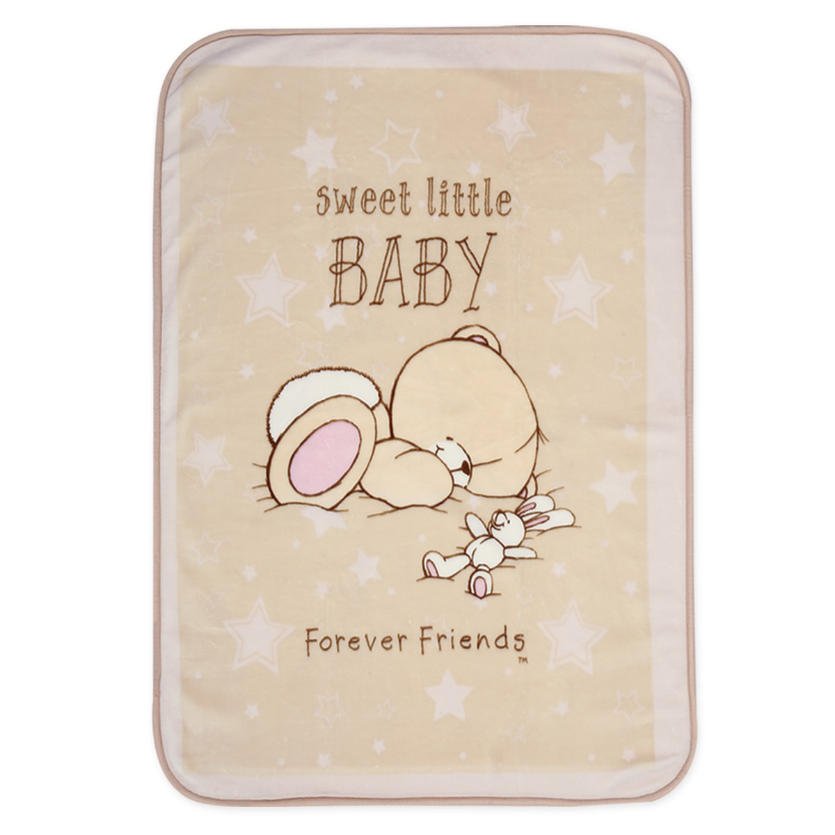Κουβέρτα Βελουτέ Κούνιας Nef-Nef Baby FF Forever Sleepy