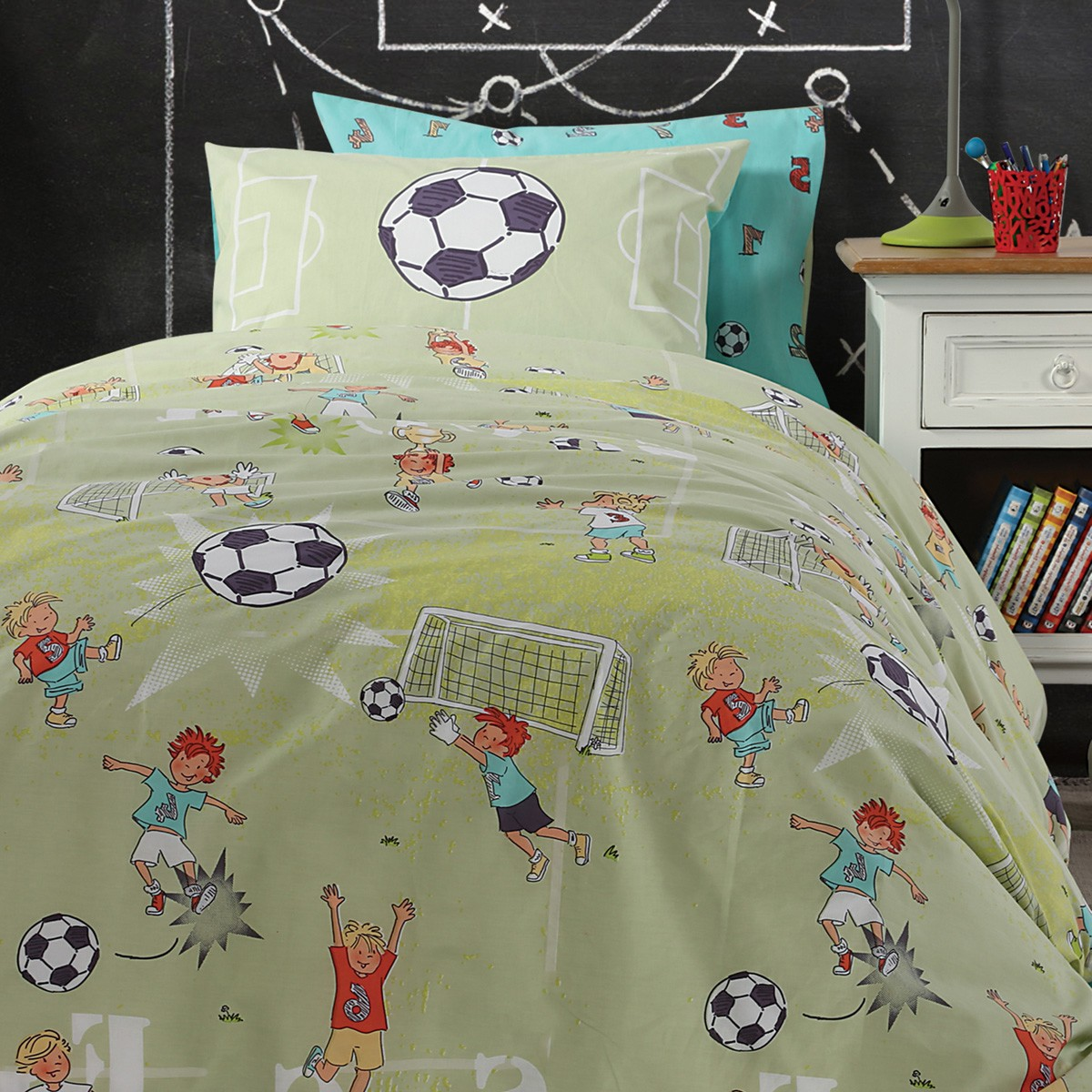 Σεντόνια Μονά (Σετ) Nef-Nef Junior Soccer
