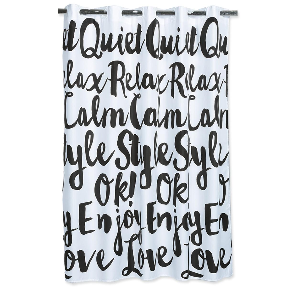 Κουρτίνα Μπάνιου (180x180) Nef-Nef Enjoy White