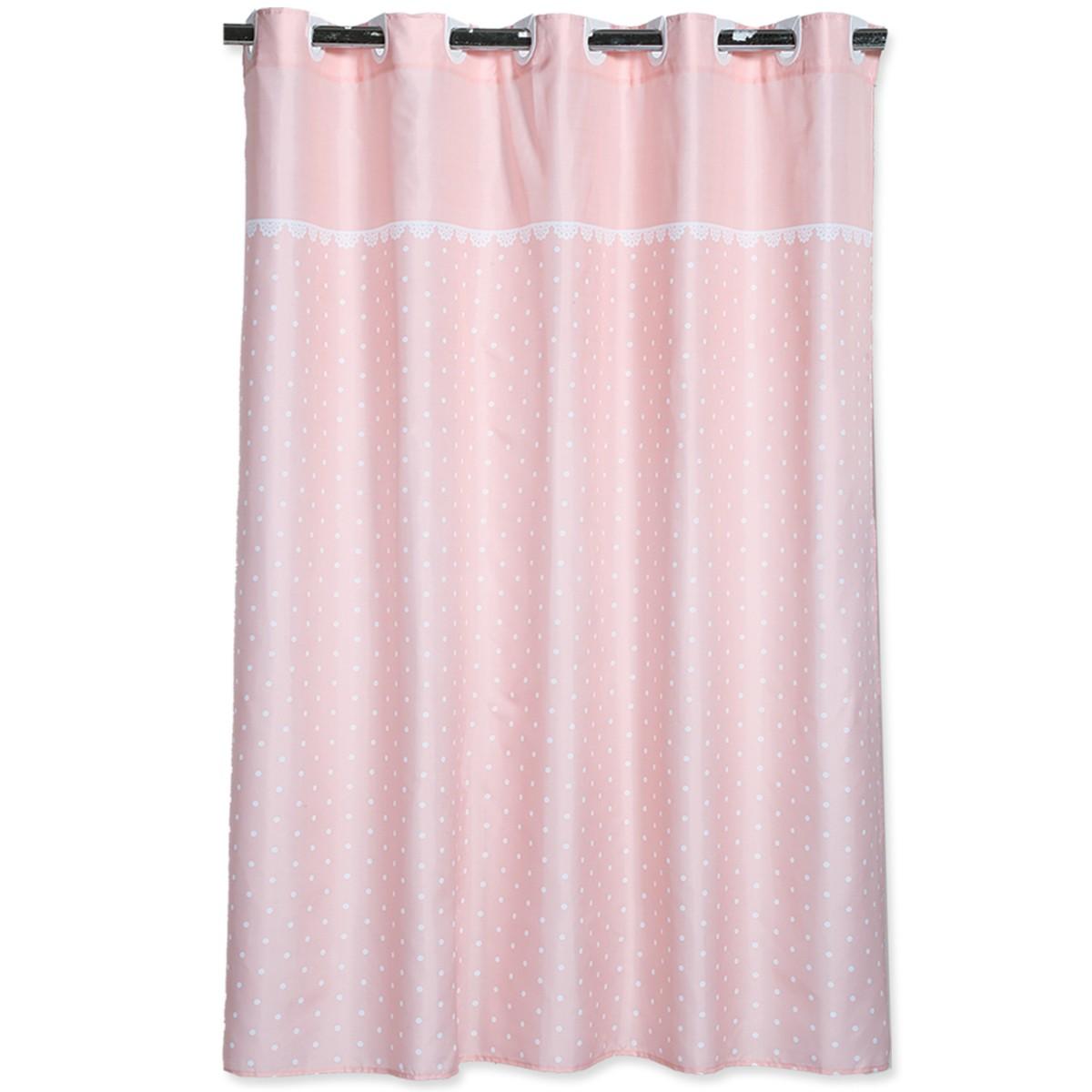 Κουρτίνα Μπάνιου (180x180) Nef-Nef Romantic Pink
