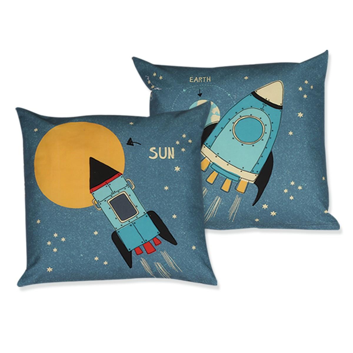 Διακοσμητικό Μαξιλάρι Nef-Nef Junior Space home   παιδικά   διακοσμητικά μαξιλάρια παιδικά