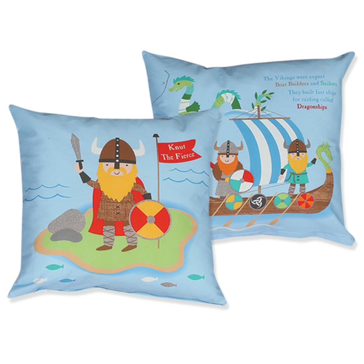 Διακοσμητικό Μαξιλάρι Nef-Nef Junior Vikings home   παιδικά   διακοσμητικά μαξιλάρια παιδικά