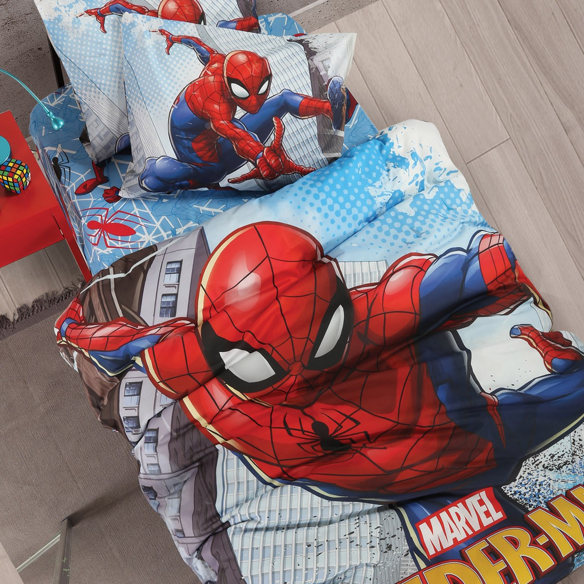 Παπλωματοθήκη Μονή (Σετ) Nef-Nef Spiderman Swing