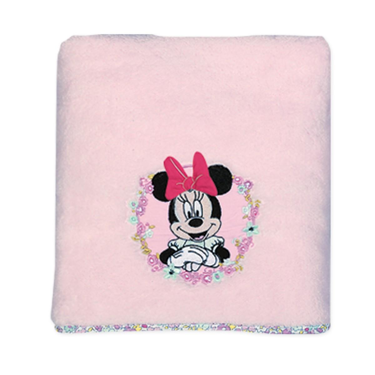 Κουβέρτα Fleece Αγκαλιάς Nef-Nef Disney Minnie Little Flower