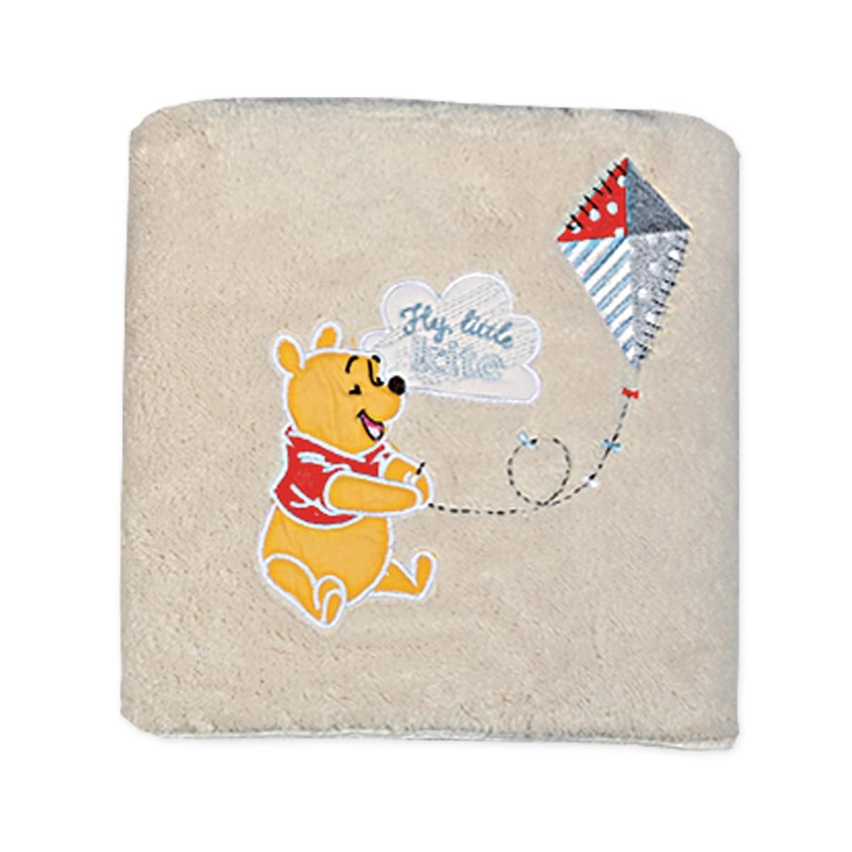 Κουβέρτα Fleece Αγκαλιάς Nef-Nef Disney Winnie Fly Kite 76485