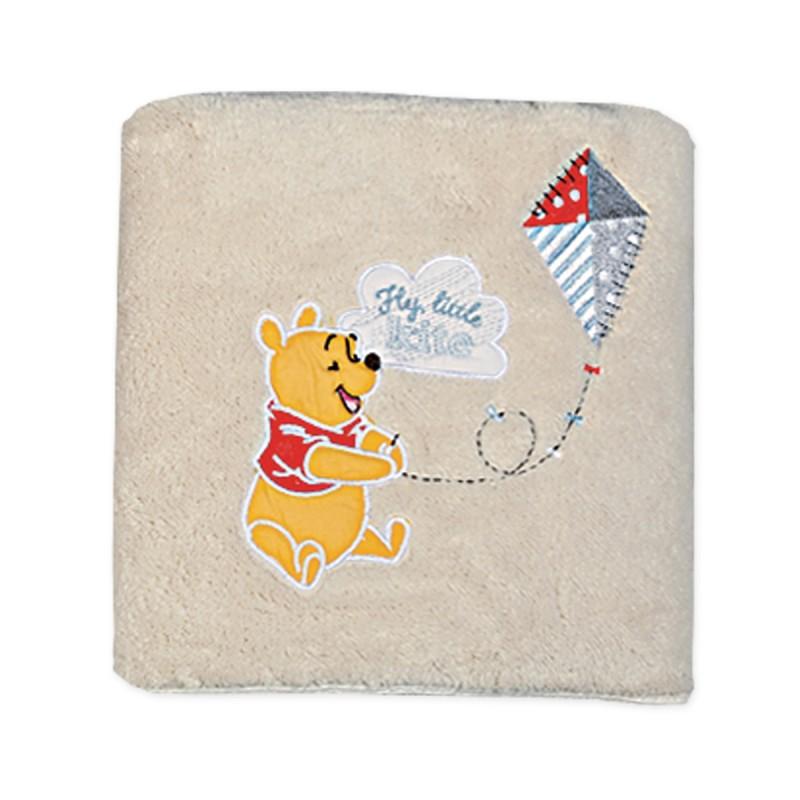 Κουβέρτα Fleece Κούνιας Nef-Nef Disney Winnie Fly Kite