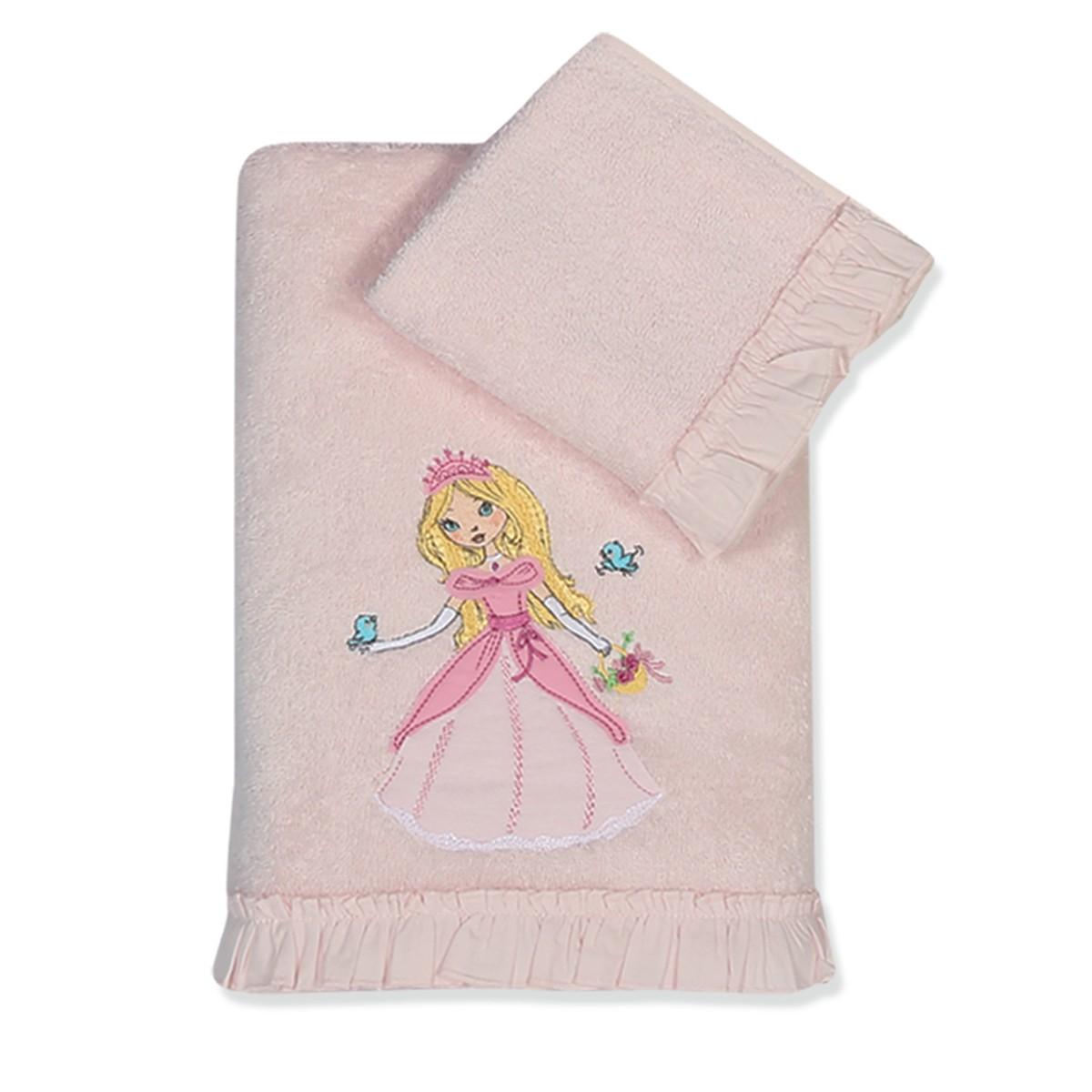 Παιδικές Πετσέτες (Σετ 2τμχ) Nef-Nef Junior Pretty Princess
