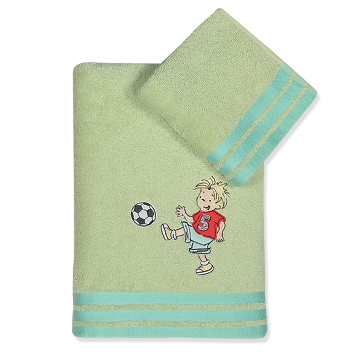 Παιδικές Πετσέτες (Σετ 2τμχ) Nef-Nef Junior Soccer
