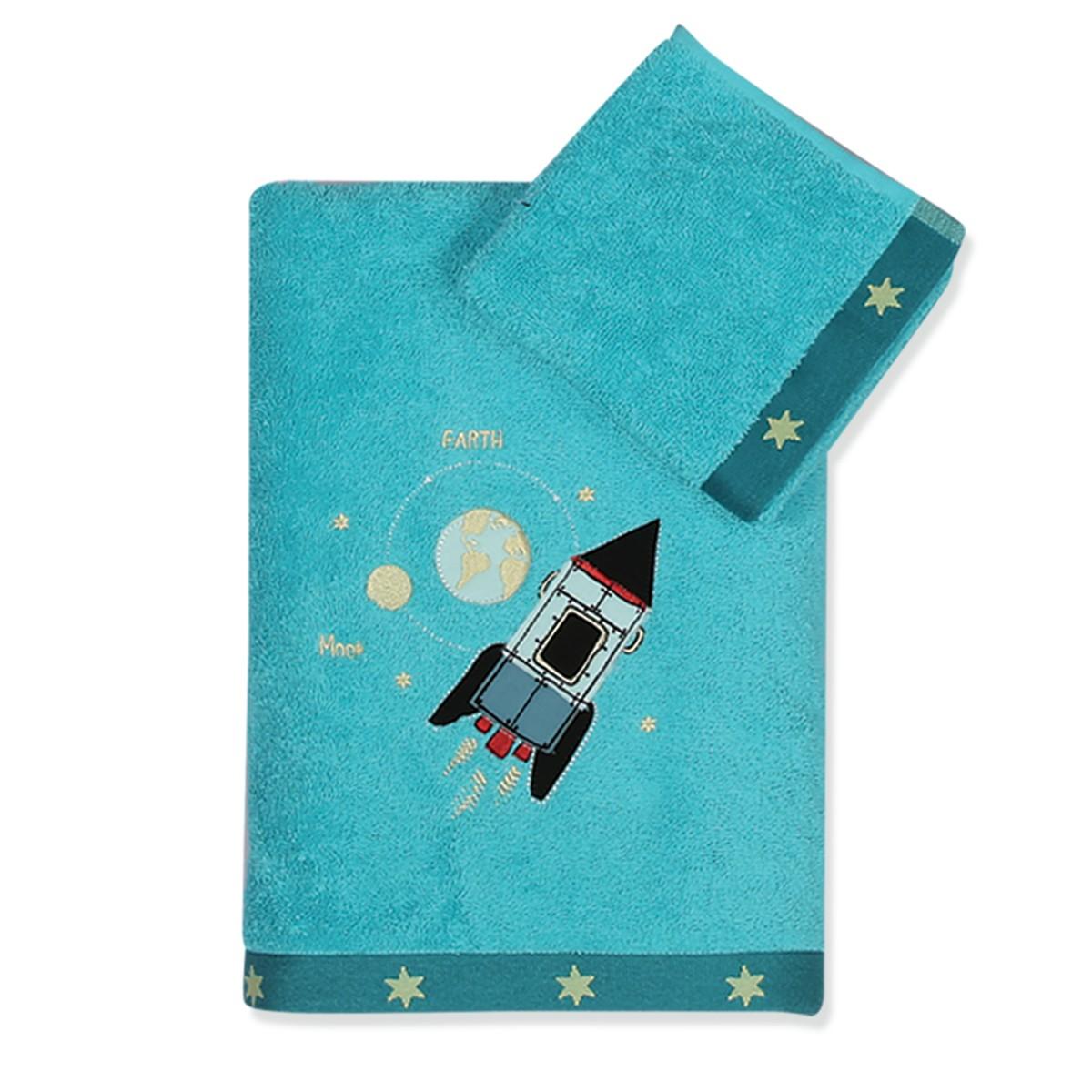 Παιδικές Πετσέτες (Σετ 2τμχ) Nef-Nef Junior Space