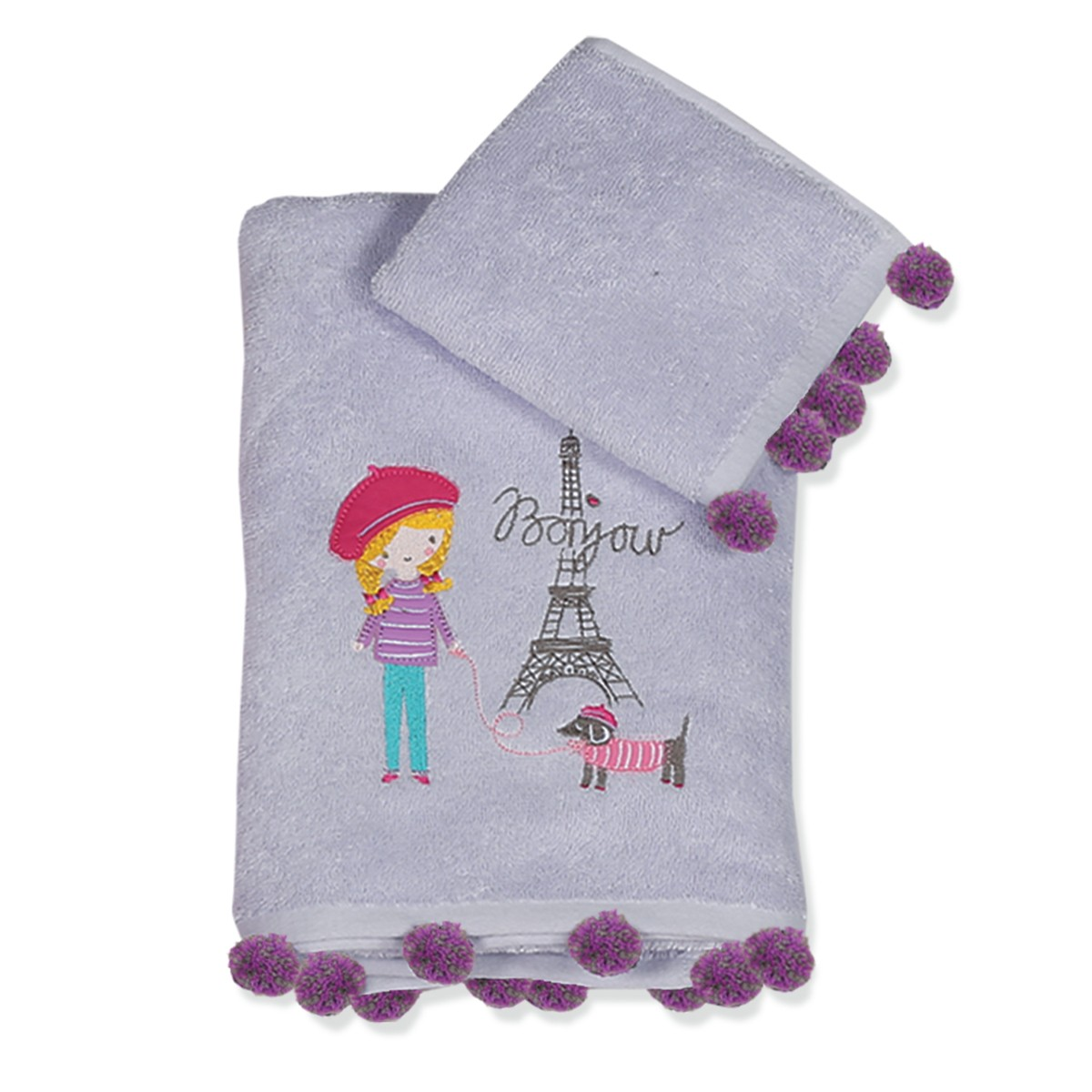 Παιδικές Πετσέτες (Σετ 2τμχ) Nef-Nef Junior Bonjour