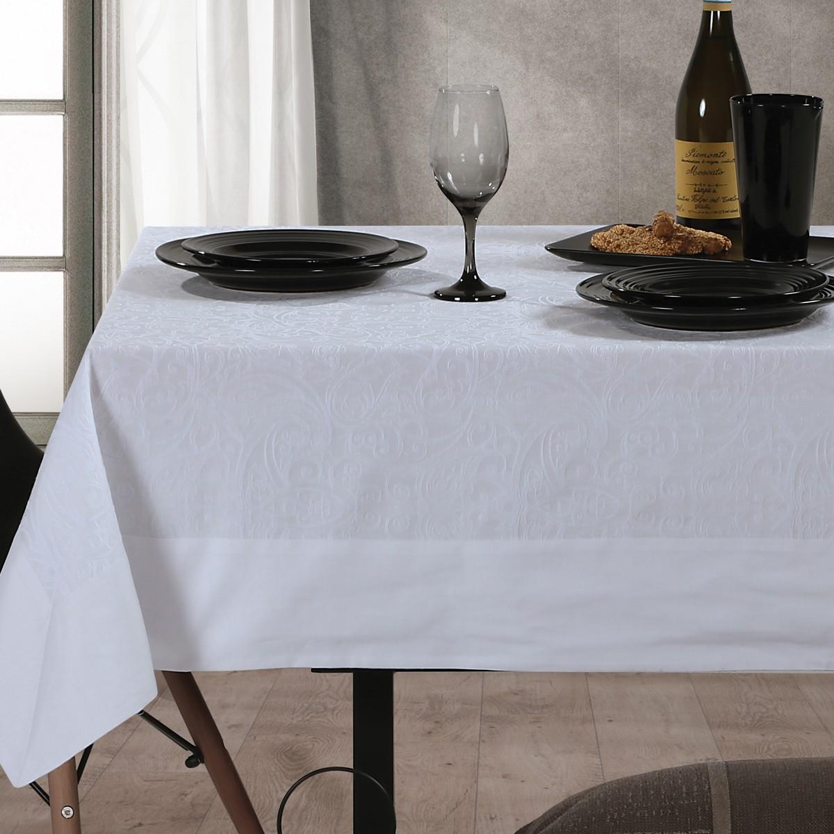 Τραπεζομάντηλο (160×260) Nef-Nef Dream On White
