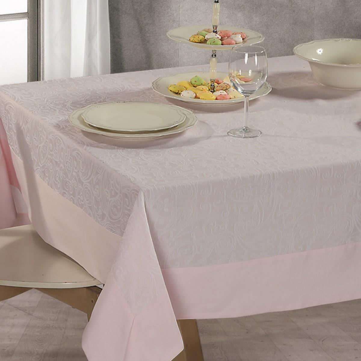 Τραπεζομάντηλο (160x260) Nef-Nef Dream On Pink