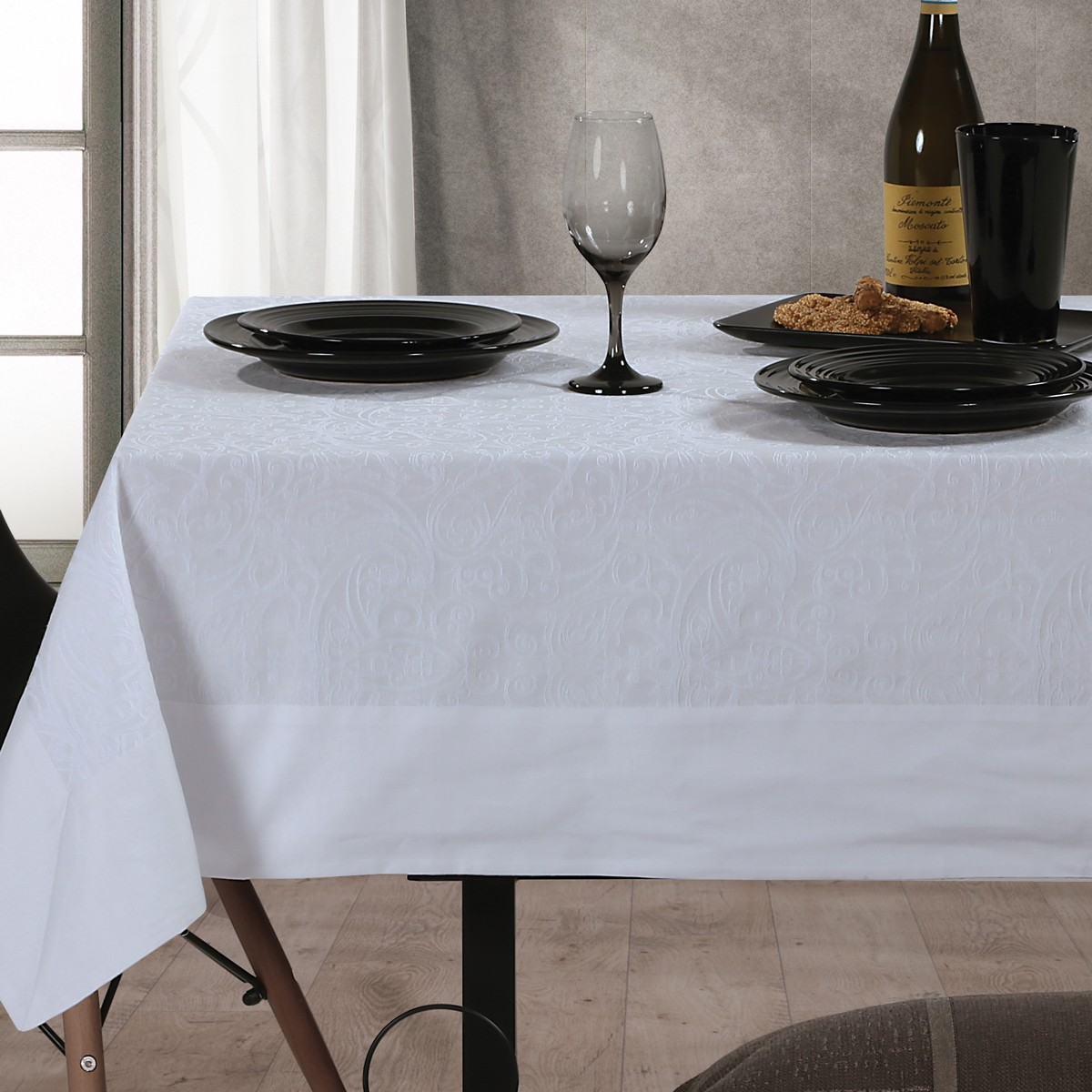 Τραπεζομάντηλο (160×300) Nef-Nef Dream On White