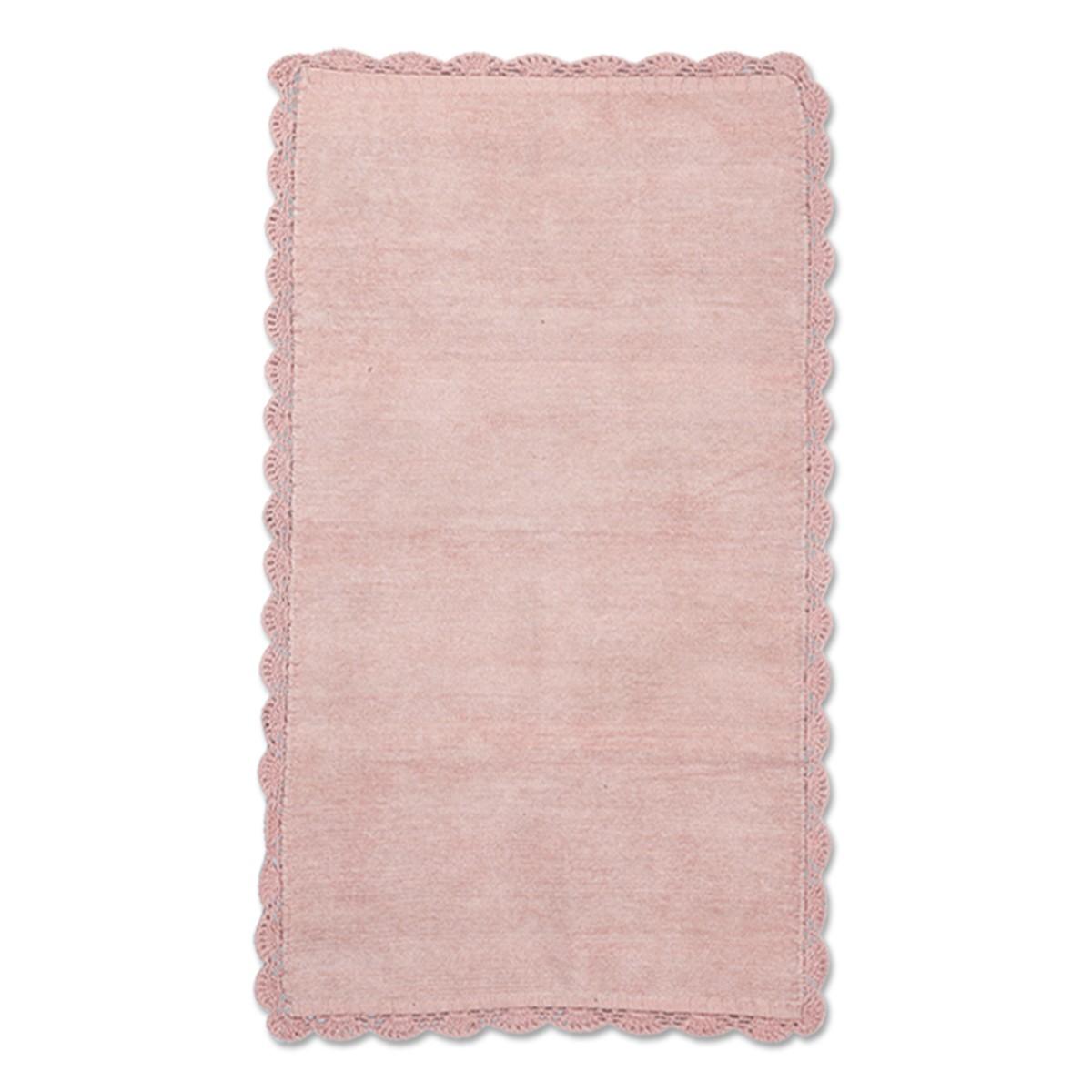 Χαλί Διαδρόμου (70×140) Nef-Nef Lace Chenille Pink