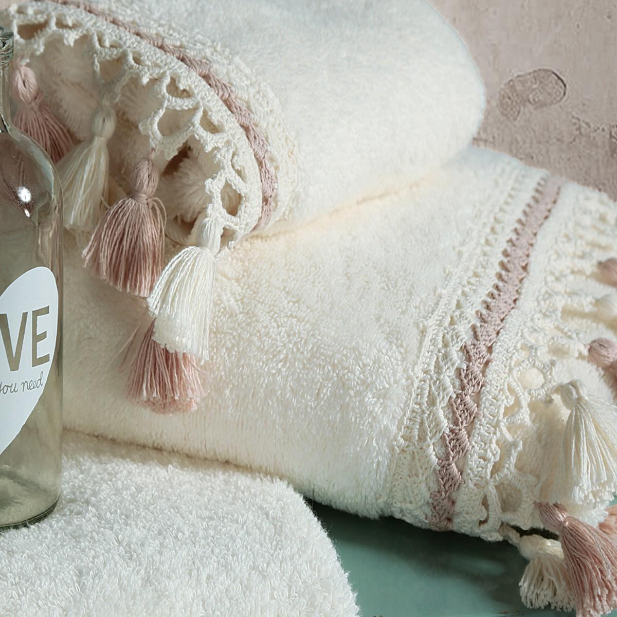 Πετσέτες Μπάνιου (Σετ 3τμχ) Nef-Nef Amanda