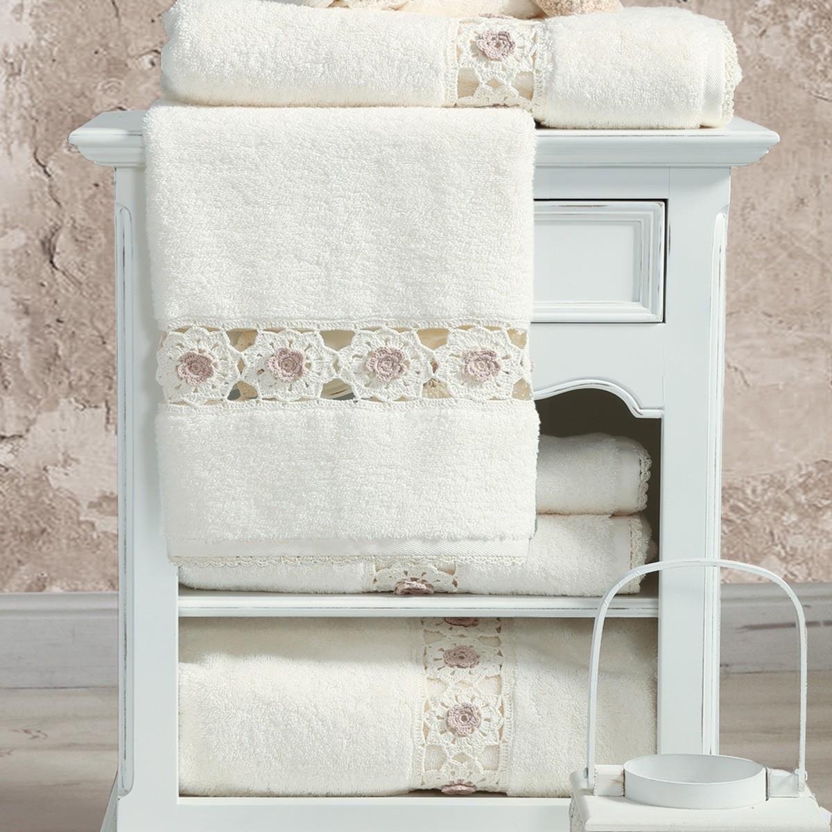 Πετσέτες Μπάνιου (Σετ 3τμχ) Nef-Nef Mila