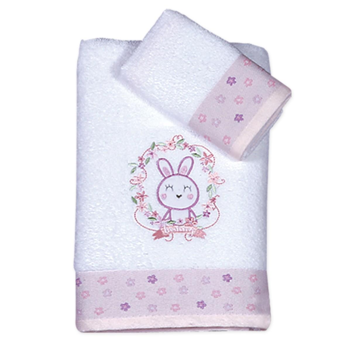 Βρεφικές Πετσέτες (Σετ 2τμχ) Nef-Nef Baby Sweet Animal Friends