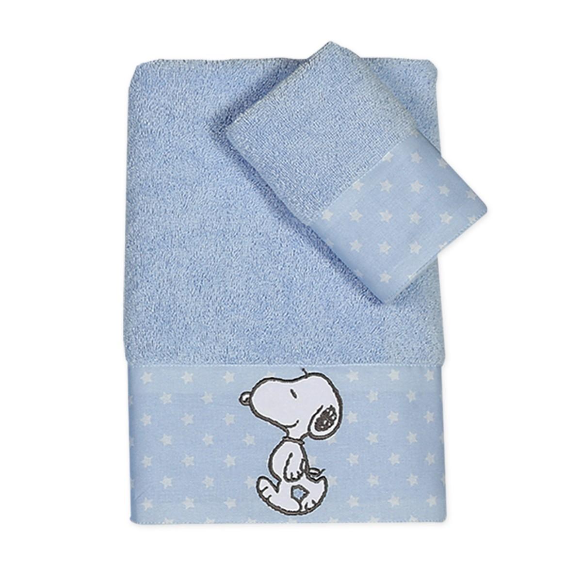 Βρεφικές Πετσέτες (Σετ 2τμχ) Nef-Nef Baby Snoopy Patch